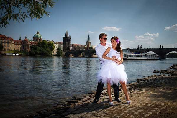 Focení svateb v Praze levně
