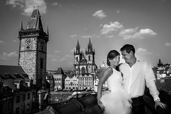 Svatební focení Praha ceník