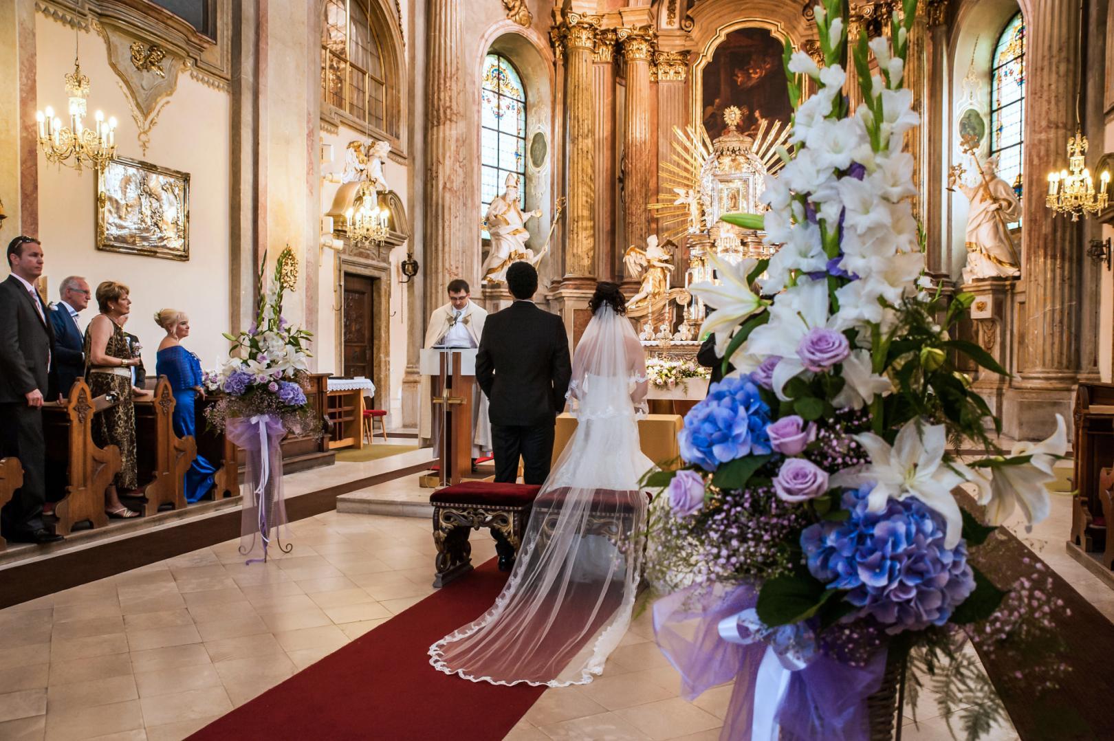 Focení svateb v Olomouci