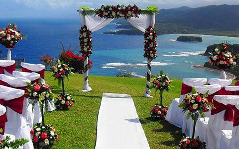 Svatební obřad na Jamajce