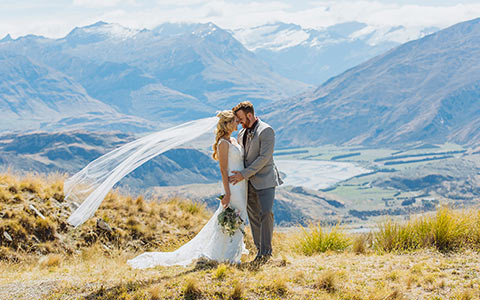 Svatba na Novém Zélandu