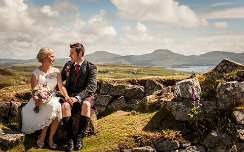 Svatební obřad ve Skotsku